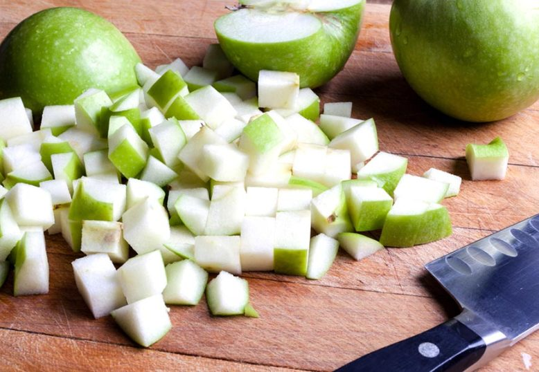 Cucumber and Granny Smith Apple Salsa