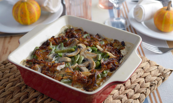 Meat, Spinach and Bean Casserole